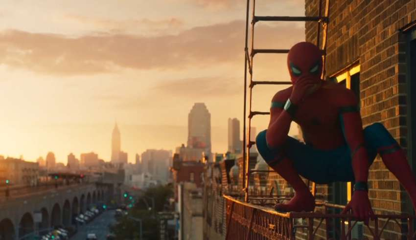 Spider Man Homecoming Trailer Gifs Released Ahead Of