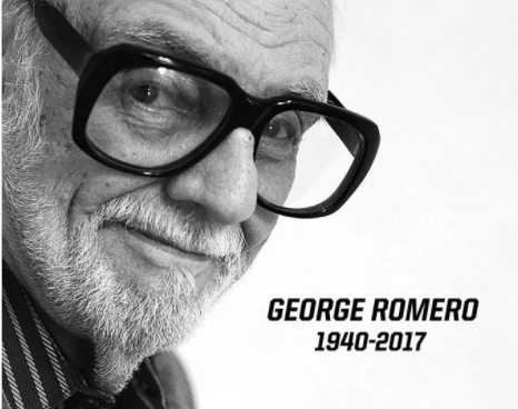 Romero, Night of the Living Dead director, has died aged 77