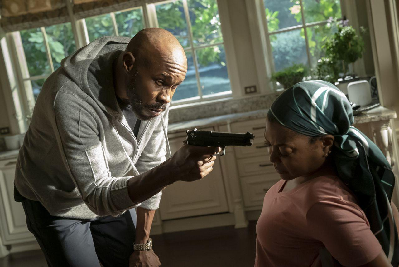 Wood Harris and Taraji P. Henson in Empire Season 6 Episode 3 - You Broke Love